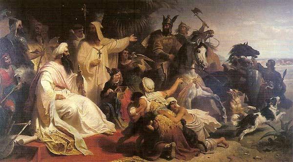 Karl Den Store På Hest